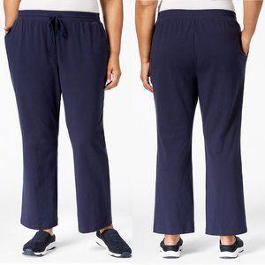 🔥 3/$10 Karen Scott Drawstring Waist Soft Pants
